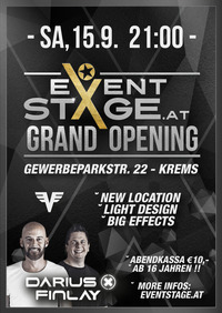 Eventstage. Krems ✪ GRAND Opening ✪
