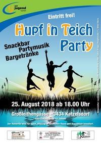 Hupf in Teich - HiT 2018@Biotop Katzelsdorf