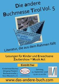 Die andere Buchmesse in Tirol - Vol. 5@Kinderhotel Buchau