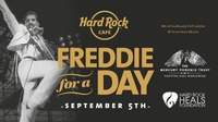 "FREDDIE FOR A DAY: Hard Rock Cafe Vienna feiert den Geburtstag von ""Queen"" Freddie Mercury!@Hard Rock Cafe Vienna"