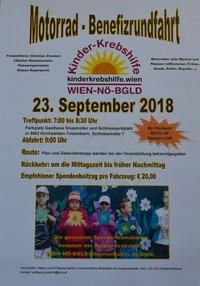 Motorrad-Benefizrundfahrt zu Gunsten der Kinderkrebshilfe@Gasthaus Gnasmüller