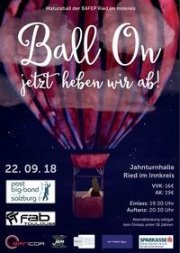 Ball On - Jetzt heben wir ab!@Jahnturnhalle Ried/I.