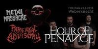 Metal Massacre: Hour Of Penance + Parental Advisory