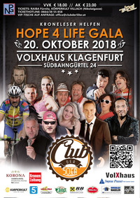 Hope 4 Life Gala - Club der 50er Benefizgala