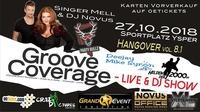 Groove Coverage - Live & DJ Show // Hangover Party 8.1@Sportplatz Ysper