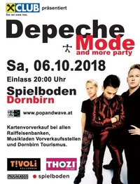 34te Depeche Mode & more Party @Spielboden