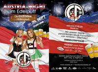 AUSTRIA NIGHT im Edelpuff - Die EXZESSive Hüttengaudi@Exzess! Gentlemen-Club Vienna