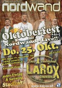 Oktoberfest mit NORDWAND Live!@LAROX