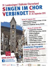 19. Landessingen des Südtiroler Chorverbandes@Sterzing