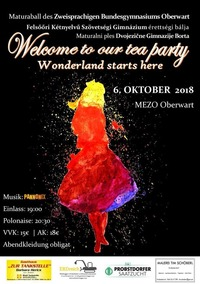 Welcome to our TEA PARTY - Maturaball des ZBG Oberwart