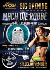 Mach die Robbe - die größte Robben-Party!@Eventstage Krems