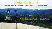 Zentralamerika: Meine Reise zur Work-Life-Balance@VHS Heiligenstadt