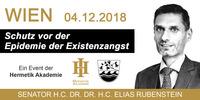 Dr. Elias Rubenstein: Schutz vor der Epidemie der Existenzangst@Schick Hotel Stefanie