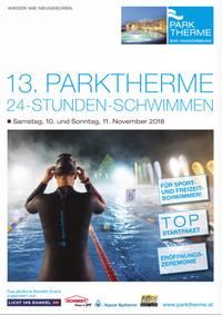 PARKTHERME 24-Stunden-Schwimmen 2018