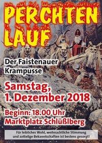 Perchtenlauf mit Adventmarkt & Nikolaus@Schlüßlberger Marktplatz
