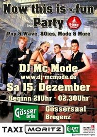 Now this is (a) fun Party / XMAS Special@Gösserbräu Bregenz