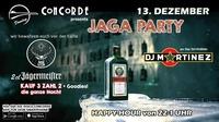 JAGA PARTY mit DJ Martinez@Discothek Concorde