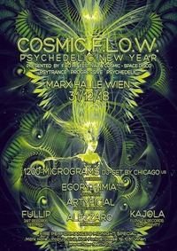 Cosmic FLOW - Psychedelic New Year@Marx Halle