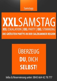 XXL Samstag@Mondsee Alm