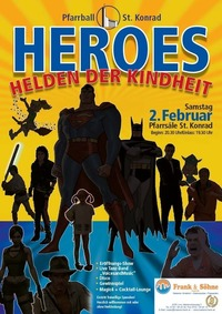 PfarrGschnas - HEROES-Helden der Kindheit@Pfarre Sankt Konrad