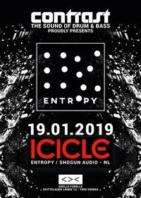 CONTRAST presents ICICLE (Entropy / Shogun Audio - NL)@GRELLE FORELLE
