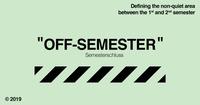 OFF-Semester - Semesterschluss@Three Monkeys