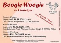 Boogie Woogie für Einsteiger@Gemeindesaal Winklarn