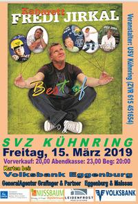 Kabarett FREDI JIRKAL - Best of@SVZ Kühnring