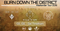 Burn Down The District / Weekender Tour I