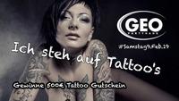 Ich steh auf Tattoo's@GEO