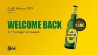 Welcome Back, Ottakringer!@GEI Musikclub