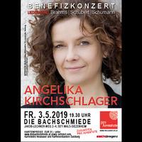 ProJuventute präsentiert: Exklusiver Liederabend mit Angelika Kirchschlager @Die Bachschmiede