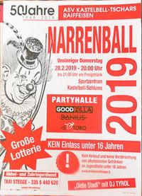 Narrenball @ Sportzentrum Golsaun@Sportzentrum Golsaun