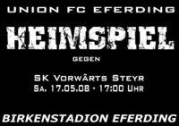 UFC Eferding - SK Vorwärts Steyr@Birkenstadion Eferding