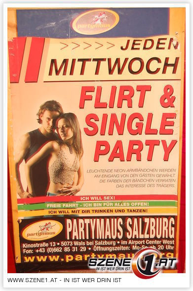 Foto 21 von 27:: Flirt & Single Party:: Partymaus rockmartonline.com