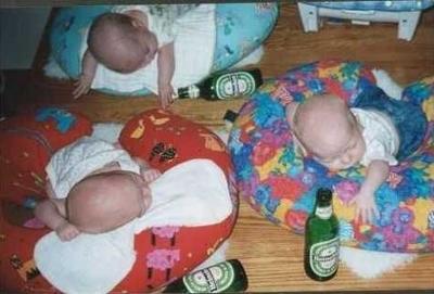 Gruppenavatar von So Kinder, Bier austrinken, Zähne putzen, ab ins Bett