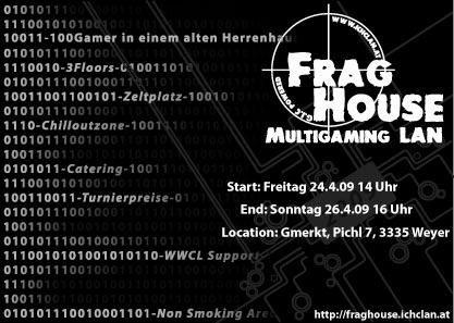 FragHouse09 MultigamingLAN@Gutshaus Gmerkt