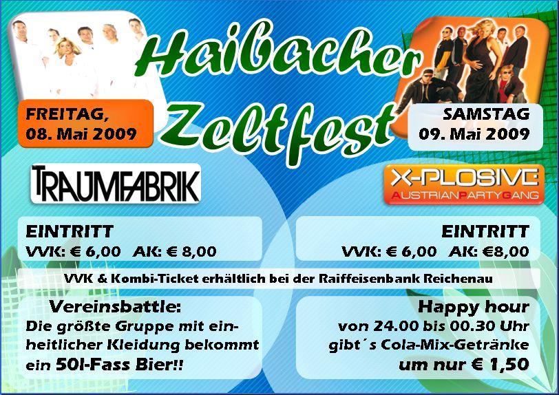 Haibacher Zeltfest@Sportplatz Kelzendorf