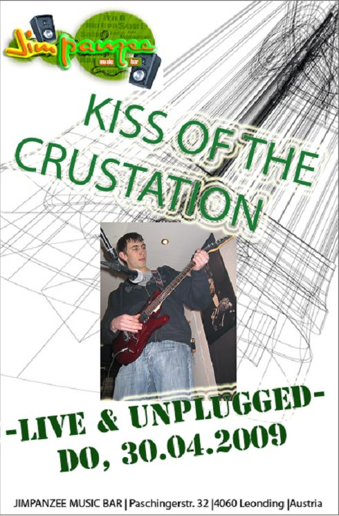 Kiss of the Crustation - Live and Unplugged@JimPanzee Music Bar