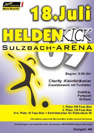 HeldenKick @Sport und Freizeitanlage Sulzbach