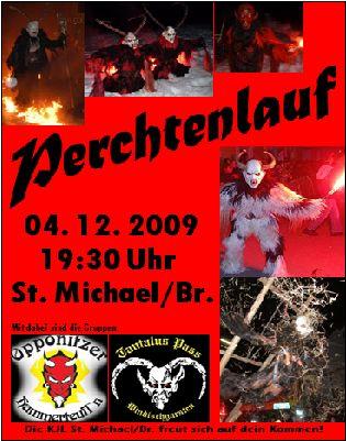 Perchtenlauf der KJL St.Michael/Br.@Ortsplatz St.Michael