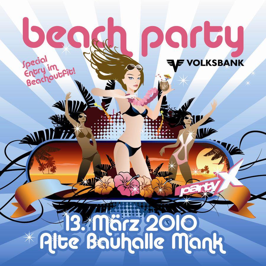 Beach Party Mank@Alte Bauhalle Mank