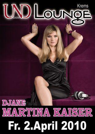 DJane Martina Kaiser@Und Lounge