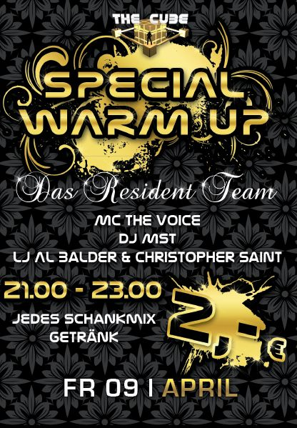 Special Warm up Party