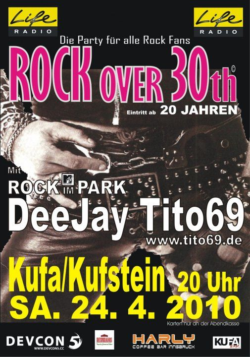 Life Radio Rock over 30th Party@KUFA