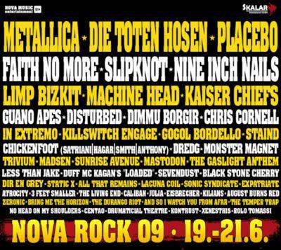 Gruppenavatar von Nova Rock 2009 - Wir waren dabei !!