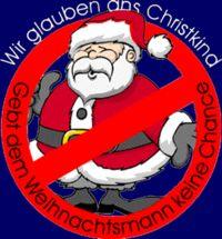 Gruppenavatar von Weg mit dem Weihnachtsmann, hier regiert das CHRISTKIND!!!!!
