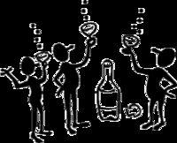 Gruppenavatar von wenn ich trinke, habe ich alle lieb