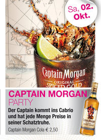 Captain Morgan Party@Cabrio