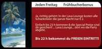 Frühbucherbonus